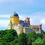 Pena Palace In Sintra Art Print