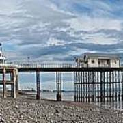 Penarth Pier Panorama 1 Art Print