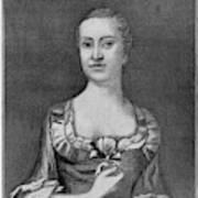 Penelope Barker (1728-1796) Art Print