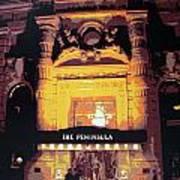 Peninsula Hotel New York Art Print