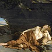 Penitent Mary Magdalene Art Print