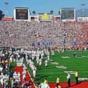 Penn State Rose Bowl Art Print by Benjamin Yeager