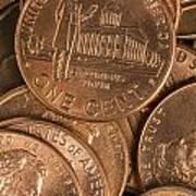 Pennies 8 Art Print