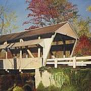 Pennsylvania Covered Bridge Art Print