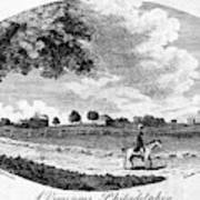 Pennsylvania Farm, 1795 Art Print