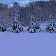 Pennsylvania Snowy Wonderland Art Print
