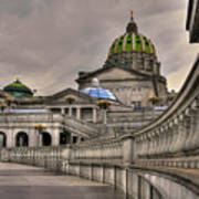 Pennsylvania State Capital Art Print