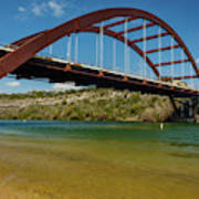 Pennybacker 360 Bridge, Austin, Texas Art Print