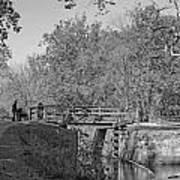 Pennyfield Lock Chesapeake And Ohio Canal Art Print