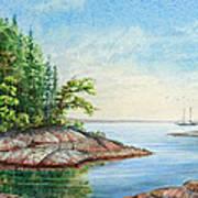 Penobscot Inlet Art Print