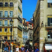 Pensao Geres - Lisbon 2 Art Print by Mary Machare