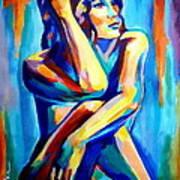 Pensive Figure Art Print