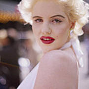 Beauty Of Marilyn Monroe Art Print