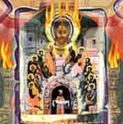 Pentecost 2009 Art Print by Glenn Bautista