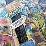 People's Wall Berkeley Ca 1977 Art Print