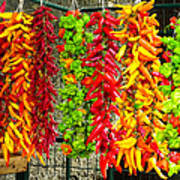 Peppers For Sale Art Print