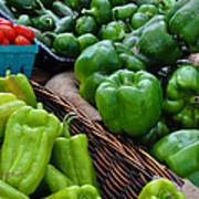 Peppers From The Farm Nj Art Print