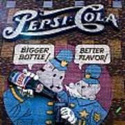 Pepsi Art Print