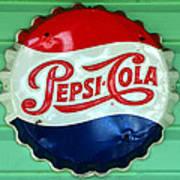 Pepsi Cap Art Print by David Lee Thompson
