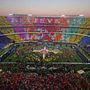 Pepsi Super Bowl 50 Halftime Show Art Print