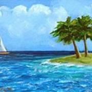 Perfect Sailing Day Art Print
