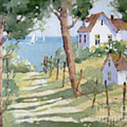 Perfectly Peaceful Nantucket Print by Joyce Hicks