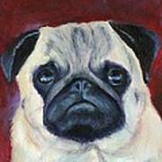 Perfectly Pug Art Print