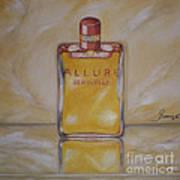 Perfume-allure Art Print
