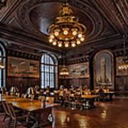 Periodicals Room New York Public Library Art Print