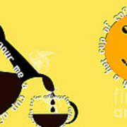Perk Up With A Cup Of Coffee 13 Art Print