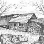Perkins Maple Sugar House Art Print