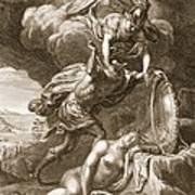 Perseus Cuts Off Medusas Head, 1731 Art Print