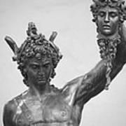 Perseus With Head Of Medusa Art Print