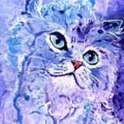 Persian Blue Art Print