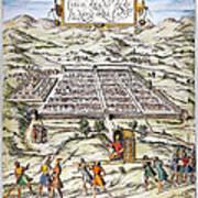 Peru: Cuzco, 1572 Art Print