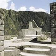 Peru. Cuzco. Machu Picchu. Incaic Art Print