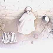 Peru Nazca Bones Two Art Print