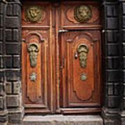 Peruvian Door Decor 10 Art Print