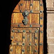 Peruvian Door Decor 17 Art Print