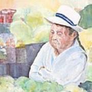 Peruvian Lady Art Print