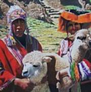 Peruvians Art Print