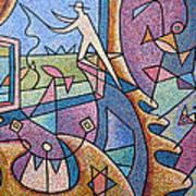 Pescador De Ilusoes  - Fisherman Of Illusions Art Print
