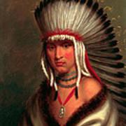 Petalesharro. Generous Chief  Pawnee Art Print