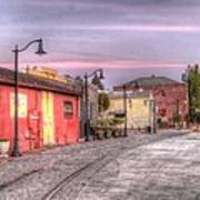 Petaluma Morning Art Print