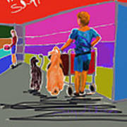 Petco Shoppers Art Print