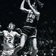 Pete Maravich Fade Away Art Print by Retro Images Archive