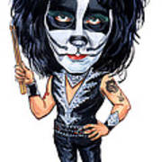 Peter Criss Art Print