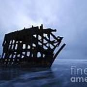 Peter Iredale Shipwreck Oregon 3 Art Print