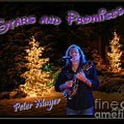 Peter Mayer Stars And Promises Christmas Tour Art Print