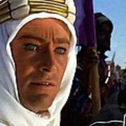 Peter Otoole And Omar Sharif In Lawrence Of Arabia Art Print